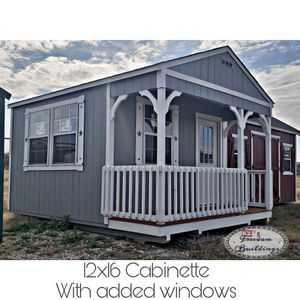 SALE: New cabins and sheds, Purchase or Rent to own-no credit check. Free delivery!!! for Sale in Manor, TX