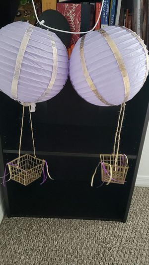 Hot air balloon themed party decor for Sale in Brooksville, FL