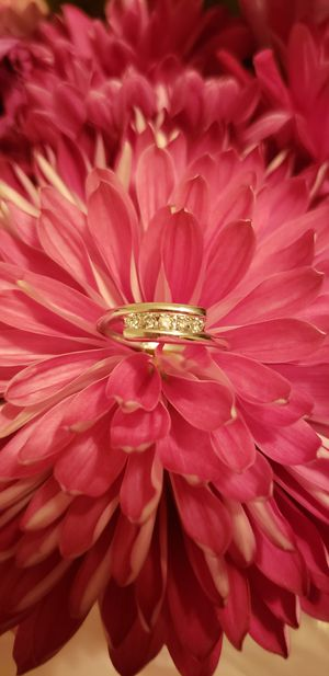 10k white gold diamond anniversary ladies wedding ring band for Sale in Mount Holly, NJ