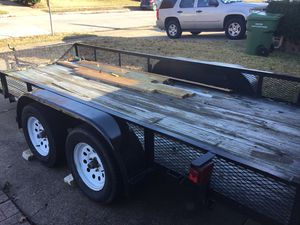 16 feet utility trailer for Sale in Garland, TX