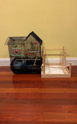 Medium sized bird cage for Sale in Waltham, MA