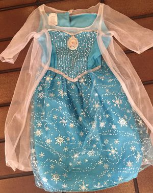 Halloween / Dress Up Disney Elsa Size 5 Size 6 Size 7 for Sale in Murrieta, CA