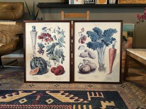 2 Large Vintage Fruit & Veggie Pictures for Sale in Colonial Heights, VA