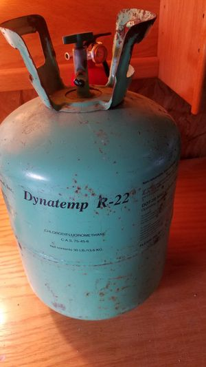 Bottle of R22 Freon for AC for Sale in Chapel Hill, NC
