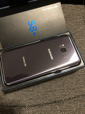 Samsung Galaxy S8 plus (S8+) - excellent condition, factory unlocked, clean IMEI for Sale in Springfield, VA