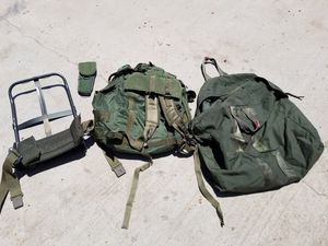 Large Military Backpack and Duffle Bag - All for $40 for Sale in Santee, CA