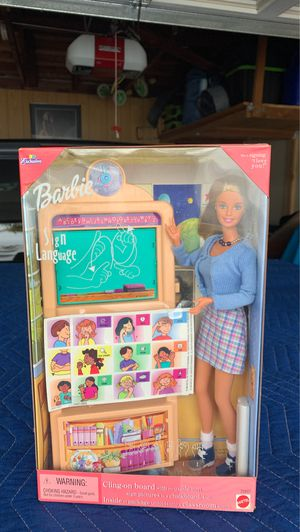 Barbie Doll Sign Language for Sale in Garden Grove, CA