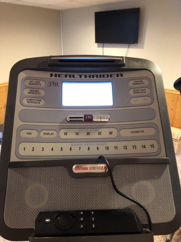 Healthrider H90e Space Saver