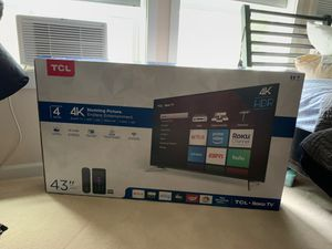 "Brand new TCL Roku TV 43"" smart tv for Sale in DuPont, WA"