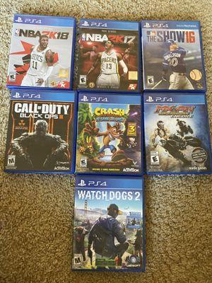 PS4 Games for Sale in Murrieta, CA