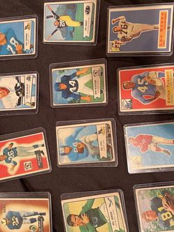 50 Lot Vintage Football Cards Bowman 1950 for Sale in Thousand Oaks,  CA