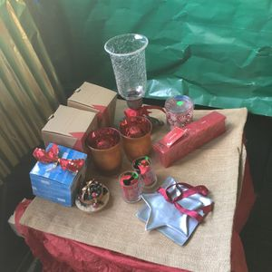 Christmas Candles And Accessories for Sale in Quincy, MA