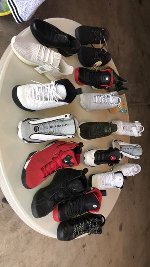 Jordan's and adidas for Sale in East Moline, IL