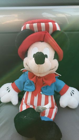Patriotic Mickey Mouse Plushie...Theme Park Edition for Sale in Kent, WA