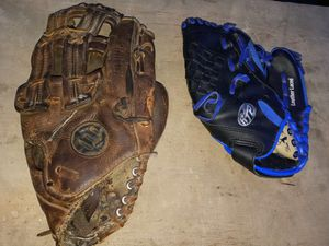 Adult & Child Baseball glove for Sale in Pawtucket, RI