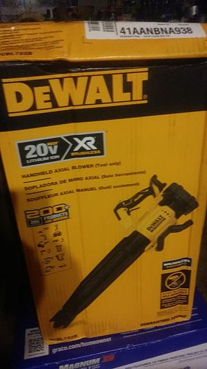 New Dewalt 20v Blower TOOL ONLY OR w/battery and charger for Sale in Moriarty, NM