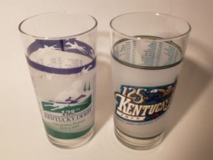 Pair of Collectible Kentucky Derby glasses for Sale in Orlando, FL