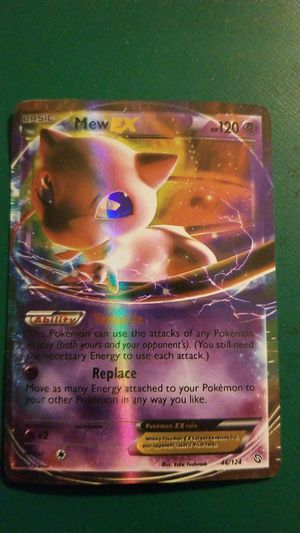 Pokemon mew ex for Sale in Roselle, IL