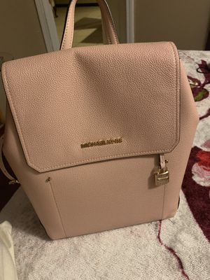 Michael Kors backpack light pink for Sale in Chicago, IL
