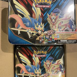 Pokemon Collectors Chest Tin Sealed Pack Of 6 for Sale in Surprise, AZ