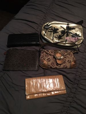 Wallets and make up bag for Sale in Clovis, CA
