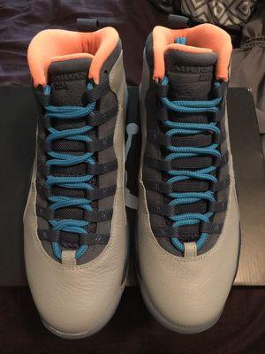 Brand New Jordan 10 Bobcats Men's Size 10 for Sale in Las Vegas, NV