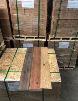 Wood vinyl flooring P SJ3 for Sale in Colton,  CA