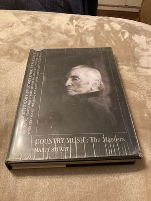 Country Music: The Masters. BOOK Photos by Marty Stuart 2008 for Sale in West Covina, CA