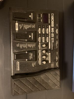 Boss multiple effects pedal for Sale in Largo, FL