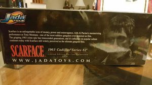 SCARFACE 1963 Cadillac Series 62 Limited Edition Die Cast Collectible (Jada Toys) for Sale in Woodbridge, VA