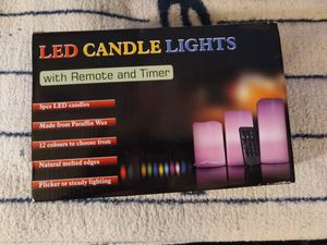 3 piece LED Candle Lights for Sale in New York, NY