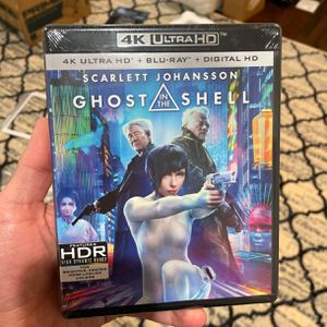 Ghost In The Shell 4K UHD + Digital for Sale in Redwood City, CA