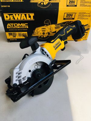 "New DeWalt ATOMIC 4-1/2"" Circular Saw (Tool Only) for Sale in Modesto, CA"