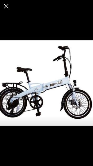 E-joe epik se electric folding e-bike for Sale in Bethesda, MD
