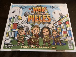 War & Pieces Special Kickstarter Edition Signed by Roman Atwood for Sale in Pendleton, IN