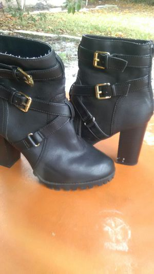 dc3cead8852c Ericdress Unique Chain Platform Stiletto Heel Thigh High Boots Sz 7 ...