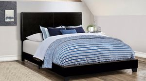 Queen bed frame with mattress and box spring 260$ only delivery available for Sale in Chicago, IL
