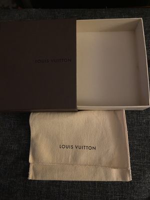Louis Vuitton wallet box and shopping bag for Sale in Quincy, MA