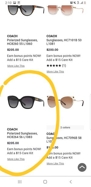Coach sunglasses for Sale in Los Angeles, CA