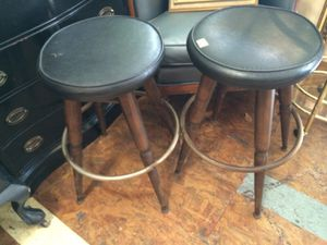 Pair Midcentury Bar Stools for Sale in San Diego, CA