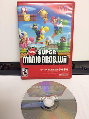 New Super Mario Bros Wii (Nintendo Wii) for Sale in Ridge Farm, IL
