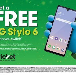 Free LG Stylo 6 for Sale in Dallas, TX
