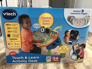 VTech Touch and Learn Activity Desk for Sale in Kirkland, WA