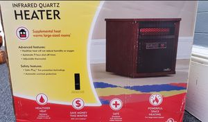 BRAND NEW ELECTRIC SPACE HEATER - Duraflame 1500-Watt Infrared Quartz Cabinet Electric Space Heater for Sale in Jersey City, NJ