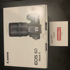 Canon 6D Mark II for Sale in Fullerton, CA