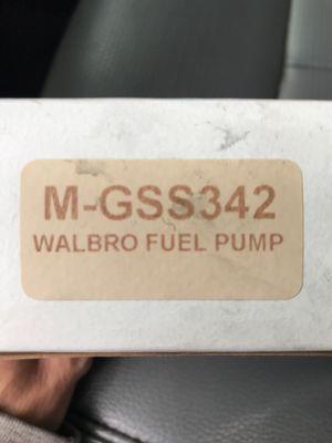 Honda Acura Walbro Fuel pump for Sale in Durham, NC