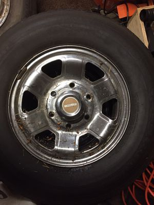 6 lug 14x7 Mazda B2200 Chrome Stocks for Sale in Lakewood, WA