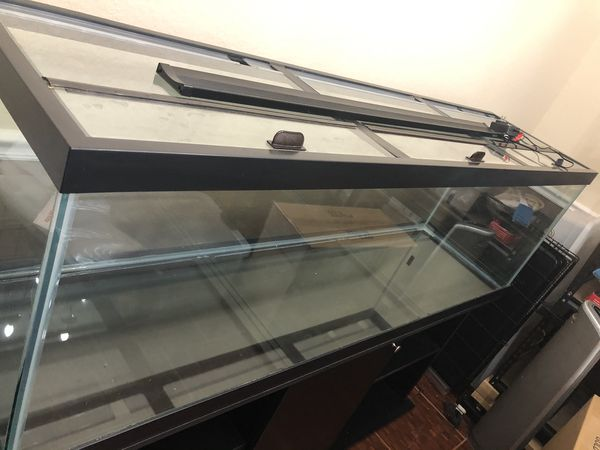 125 gal. fish tank, pump, filter, heater & gravel cleaner