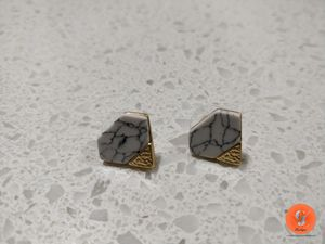 Diamond shape earring for Sale in Portland, OR