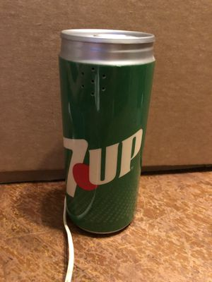 3x3x6.5 vintage 7UP soda can push button 1970 telephone Great shape! 27.00. 3211 Fort Worth trail. 🍁Johanna Antique vintage sterling silver jewelry for Sale in Buda, TX